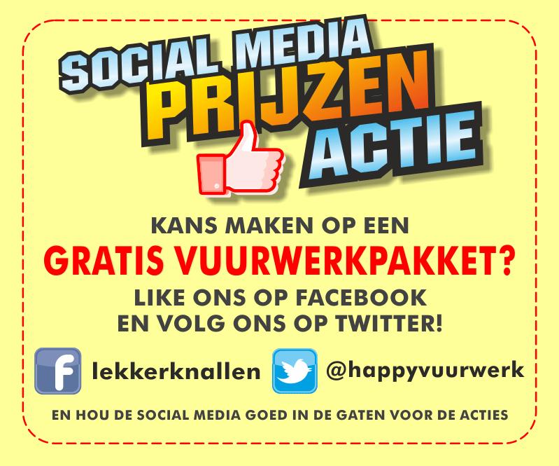 Deel actie Social Media!!