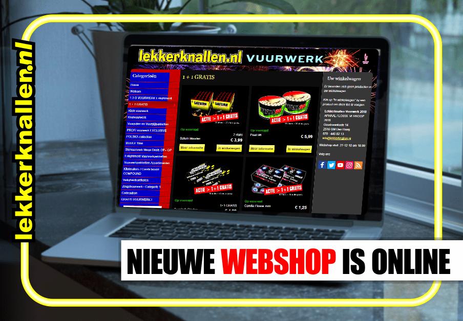 Vuurwerk Webshop Is Open