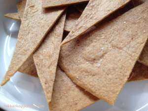 Tortilla chips van wraps