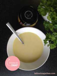 Romige mosterdsoep