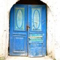 Les portes tunisiennes bleues ont une âme (1)