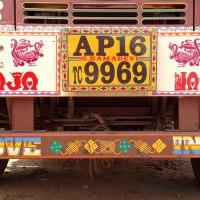 Les camions indiens dans le Kerala et le Tamil Nadu, les tata trucks. Dossier Inde (4)