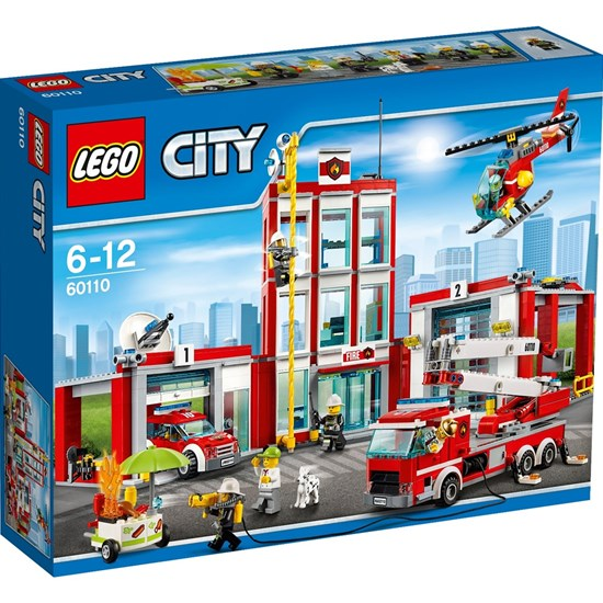 Lego City Brandstation Image