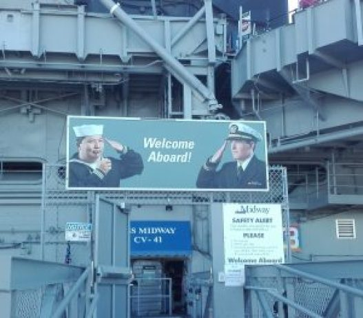 MIDWAY Welcome aboard