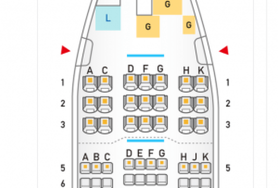 ANAプレミアムクラス座席表