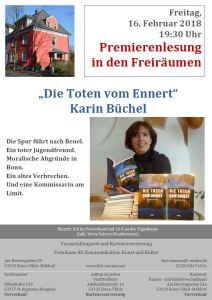 Premierenlesung von Karin Büchel