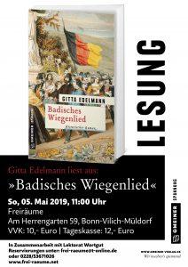 Plakat Gitta Edelmann