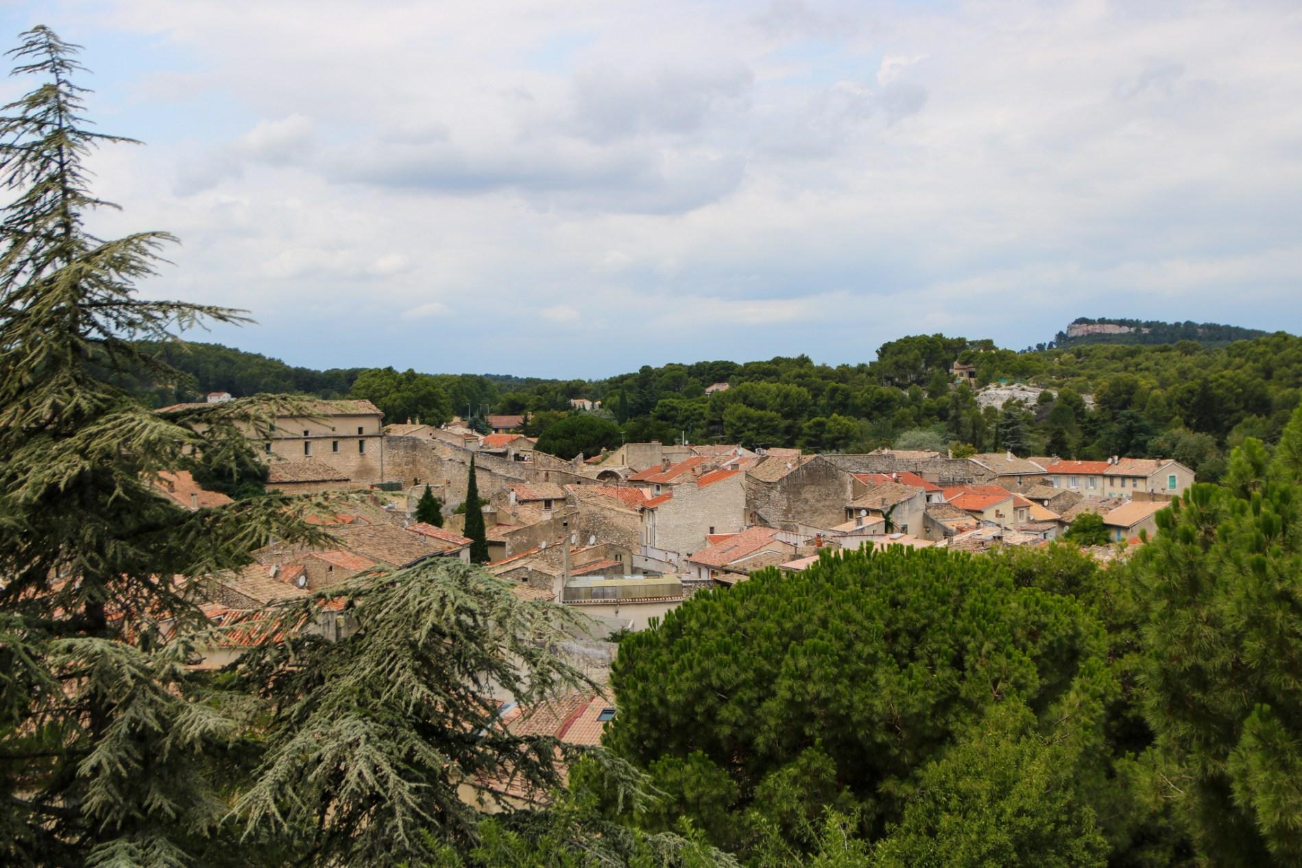 Visite du village d'Orgon