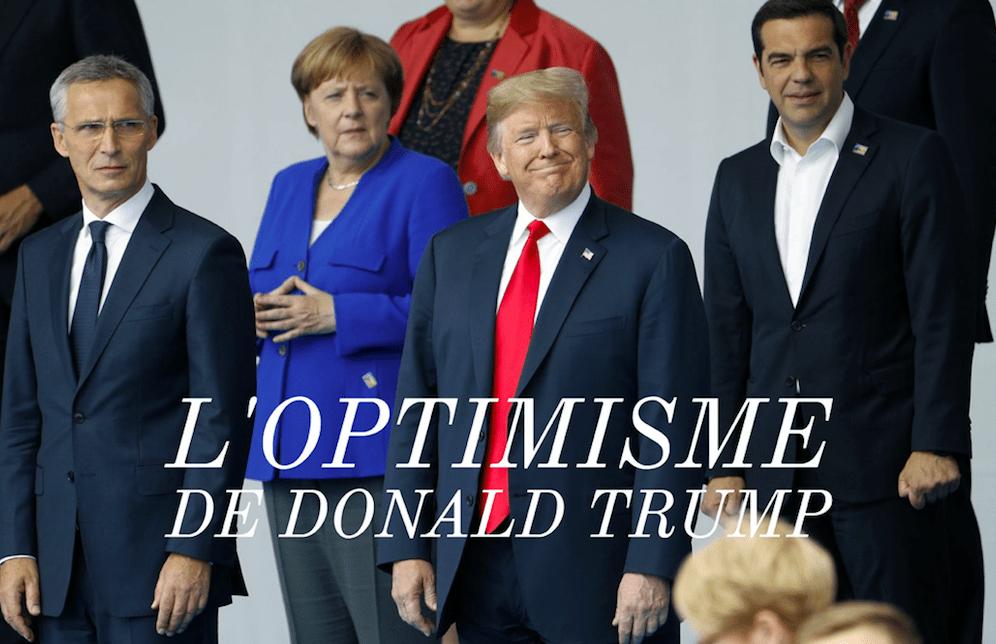 L'optimisme de Donald Trump