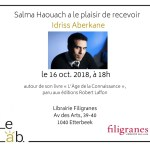Save the date! Rencontre avec Idriss Aberkane