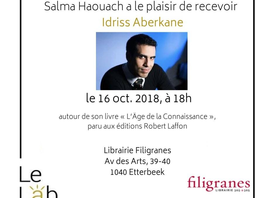 Save the date! Rencontre avec Idriss Aberkane