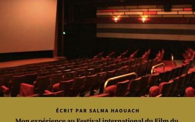 Mon expérience au Festival international du Film du Caire: séquence émotions