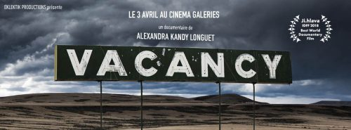 La rencontre : Le Lab. X Alexandra Kandy Longuet pour son documentaire Vacancy