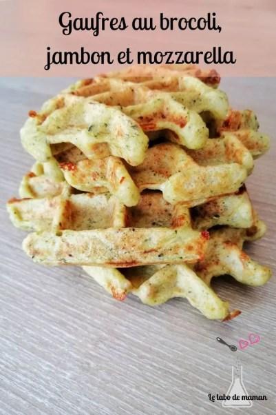 gaufres-companion-brocoli-légume-mozzarella-jambon