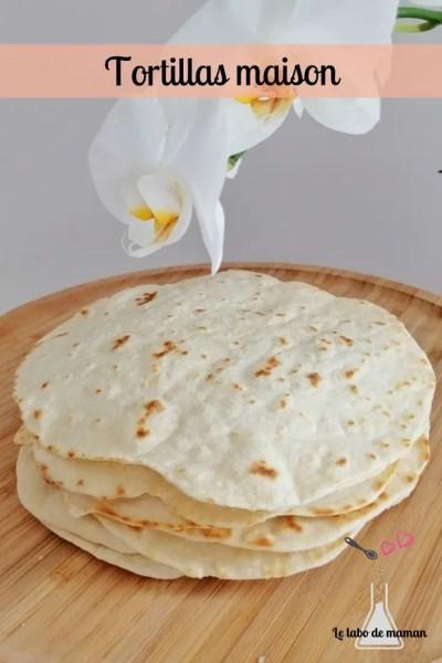 tortillas maison blé companion