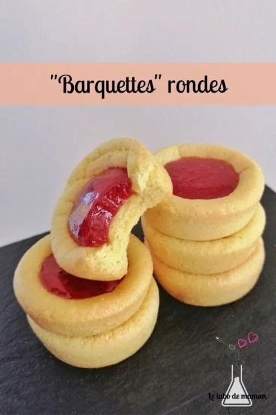 barquettes rondes fraises