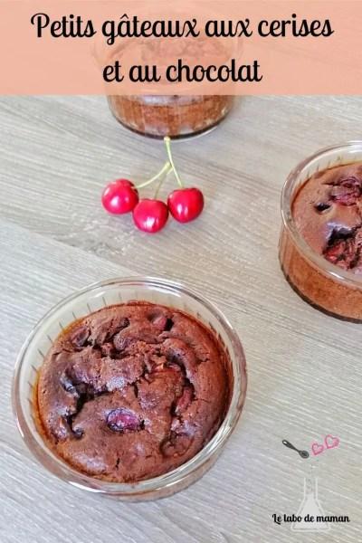 gâteaux chocolat cerise
