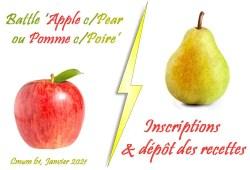cmum battle pomme poire
