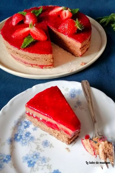 chocolat framboise fraise
