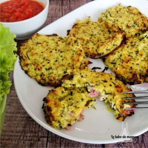 galettes courgette