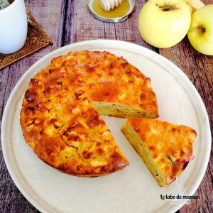 gâteau aux pommes healthy