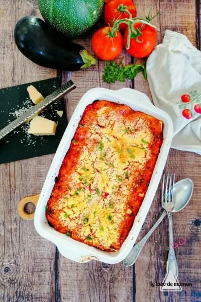 lasagnes été
