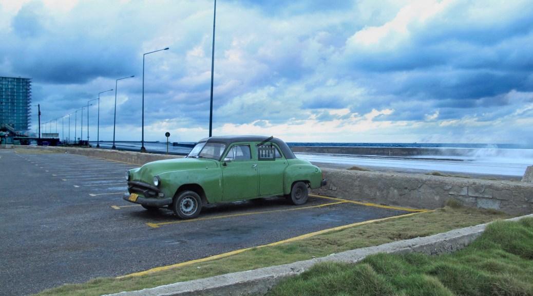 Un parking à La Havane