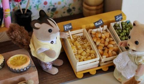 DIY - Maison de poupée pour les Sylvanians dans une valise - Doll house for Sylvanians in a suitcase.