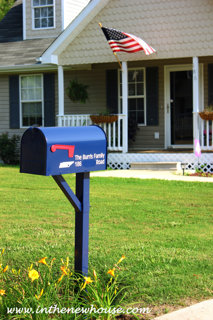 Mailbox curb appeal