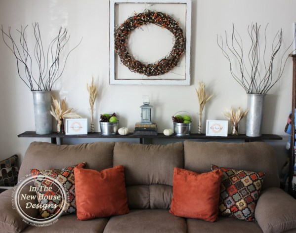 Update Your Current Home Decor By Adding Small Touches Of Fall For A Subtle Impact