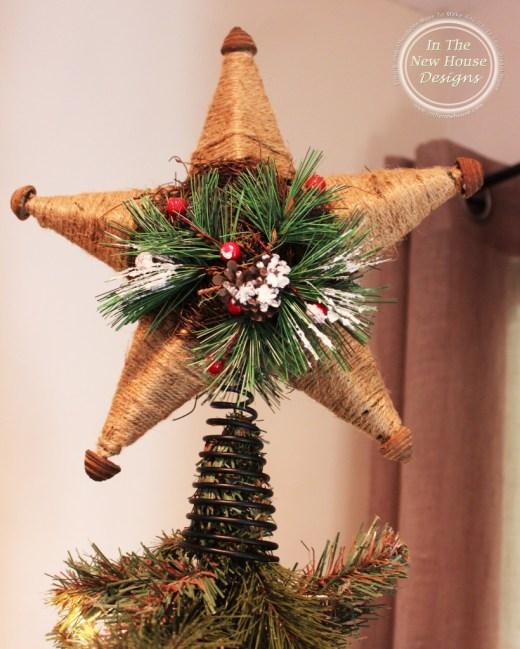 Christmas Tree Rustic Star