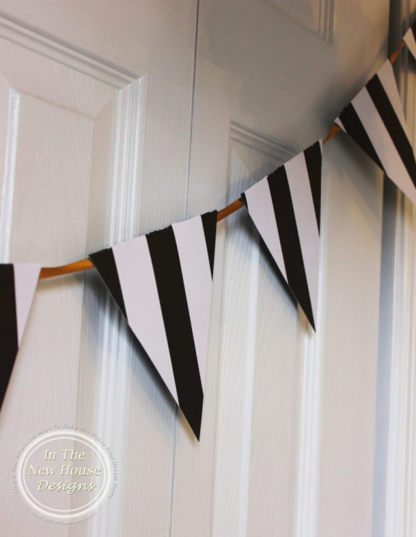 DIY Super Bowl Party Bunting
