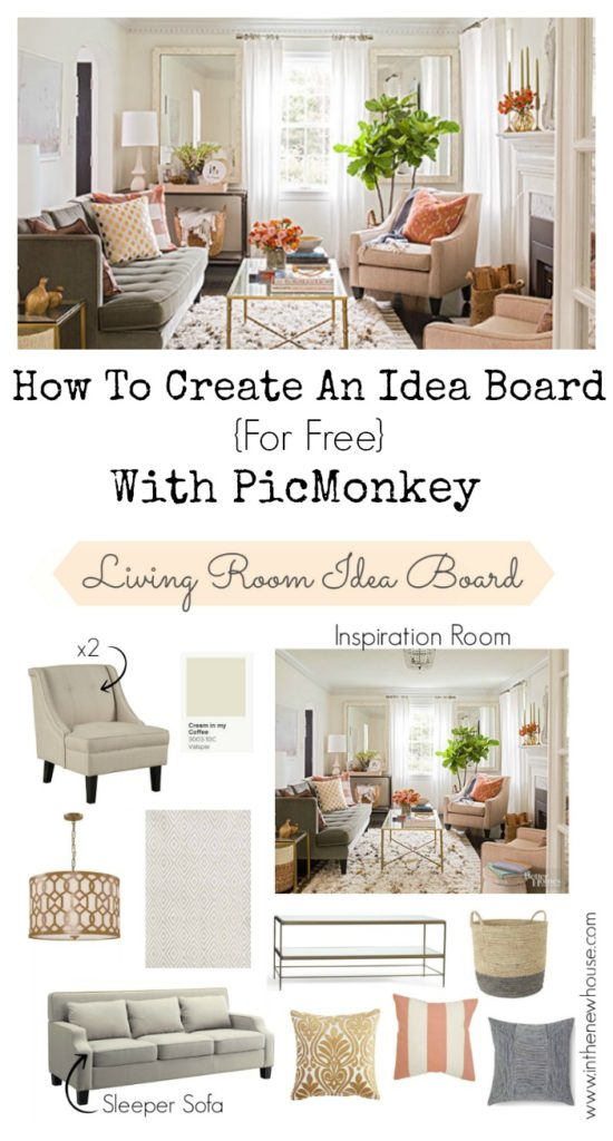 How to create an idea board using PicMonkey   A step by step super easy tutorial