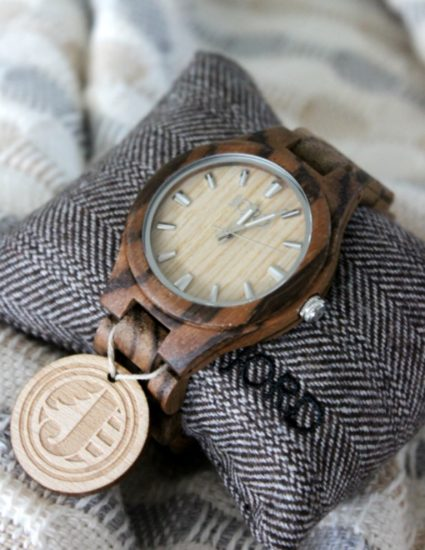 Zebrawood Maple Watch by Jord