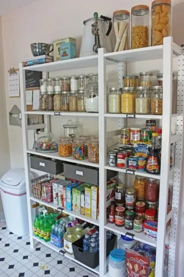 Ikea Ivar Shelving Makes The Perfect Kitchen Pantry