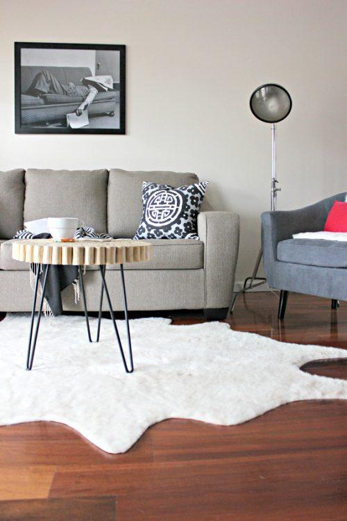 Vintage Modern Mix Living Room Reveal - Lela Burris