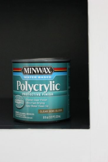 Polycrylic for cabinets