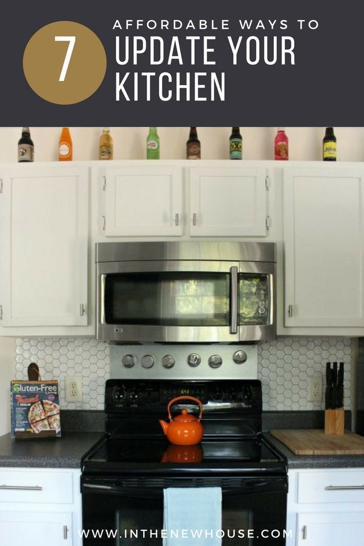 Make sure you\u0027re subscribed to my email list so you don\u0027t miss more room tours and makeovers! You can sign up here for blog post updates. & 7 Affordable Ways To Update Your Kitchen - Lela Burris