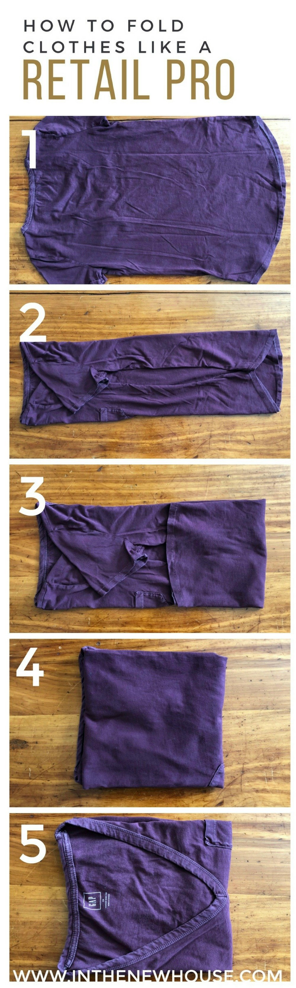 click through for more tips on folding your clothes