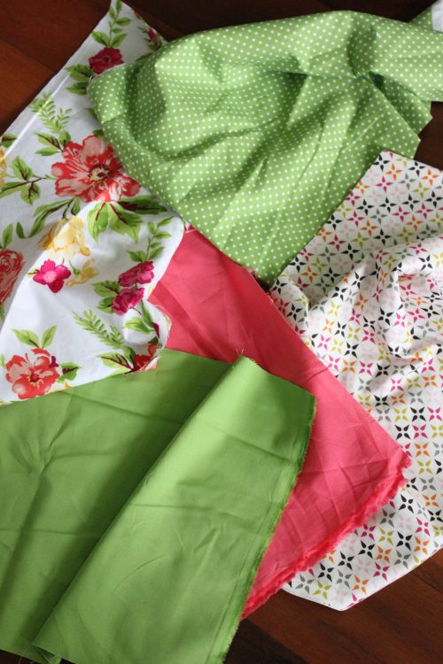 Turn these fabric scraps into a beautiful party decoration