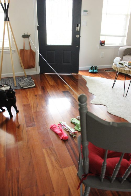 diy fabric scrap garland tutorial