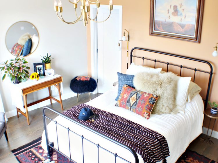 southwestern style bedroom