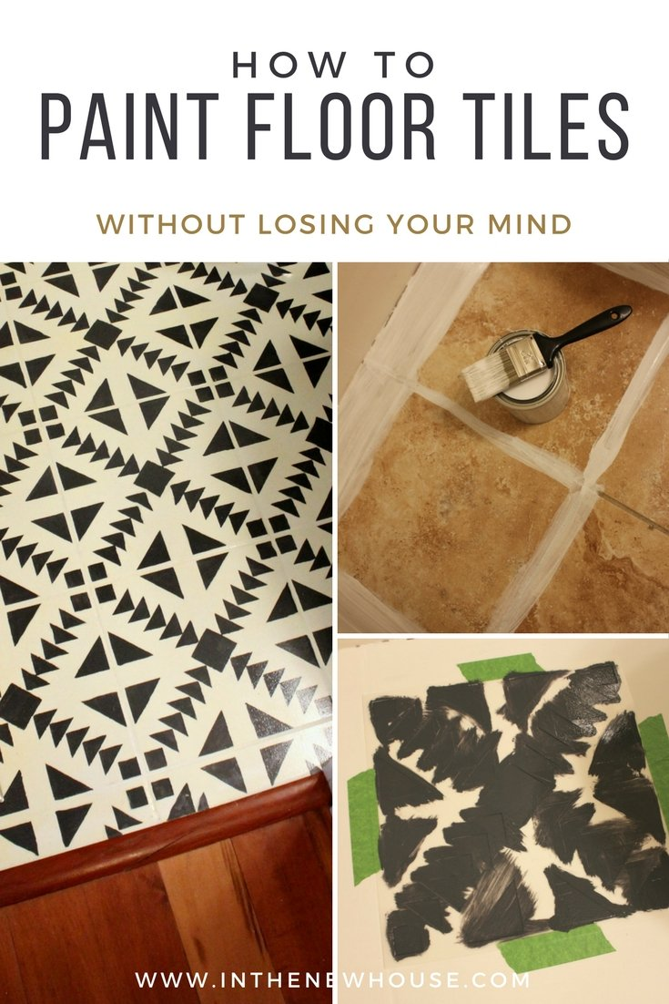 My honest review and tutorial for painting tile floors and how to avoid common mistakes
