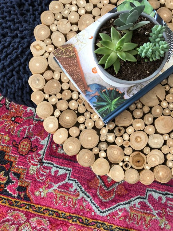 succulents are perfect for small coffee tables