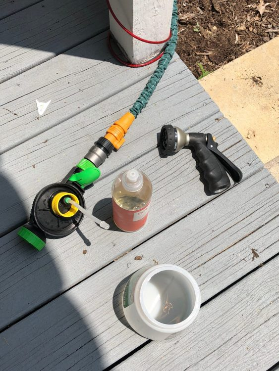 the easiest way to clean your front porch