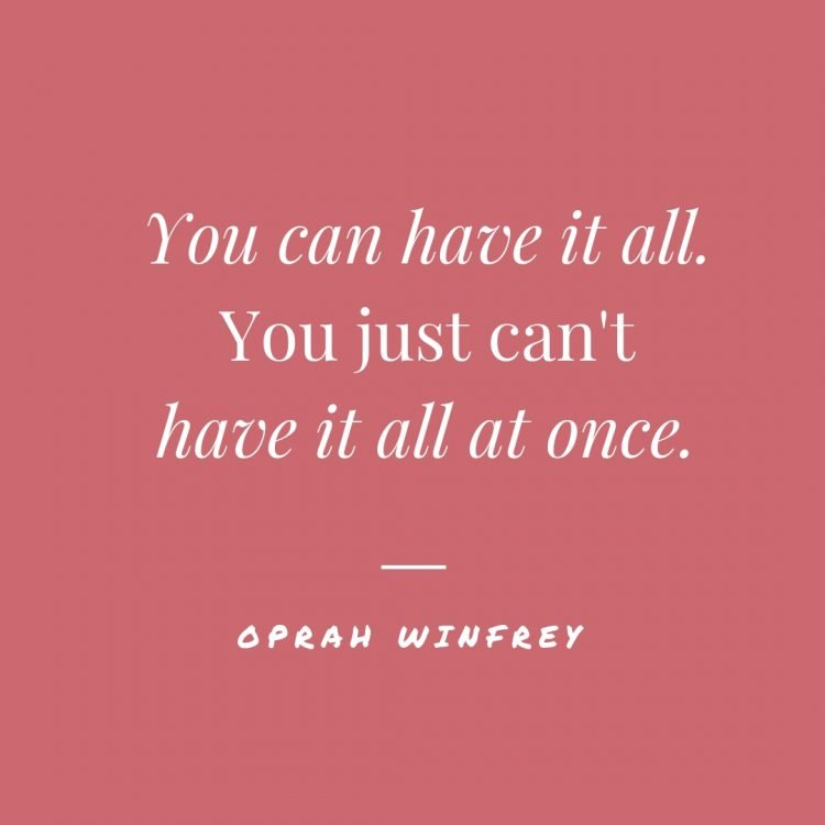 oprah quotes about keeping organized