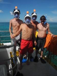 A hacer snorkel