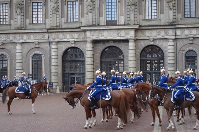 Relève garde Stockholm