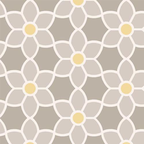 Blossom Geometric Floral Wallpaper Lelands Wallpaper