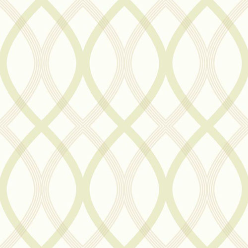 2535-20669 simple space 2 contour lattice wallpaper celery beige off white